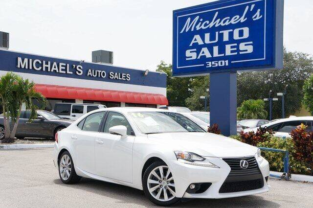2016 Lexus IS 200t for sale in Hollywood, FL