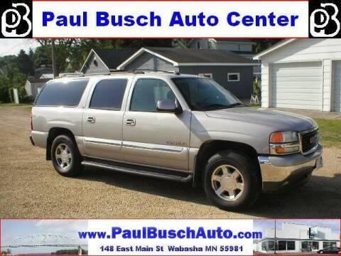 2005 GMC Yukon XL for sale at Paul Busch Auto Center Inc in Wabasha MN