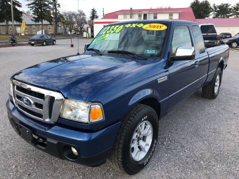2008 Ford Ranger for sale at On-Site Auto Sales & Service in York PA