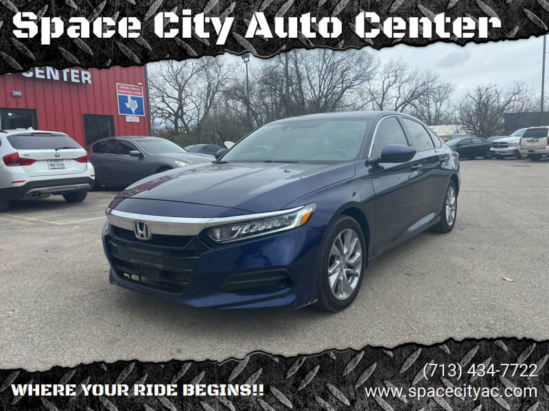 2018 Honda Accord for sale at Space City Auto Center in Houston TX