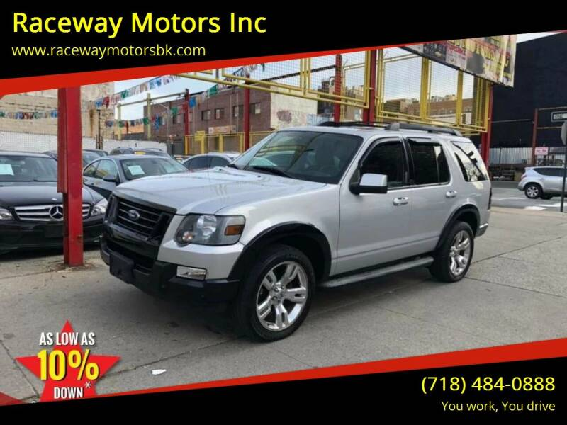 2009 Ford Explorer for sale at Raceway Motors Inc in Brooklyn NY