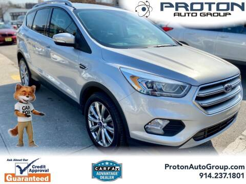 2017 Ford Escape for sale at Proton Auto Group in Yonkers NY
