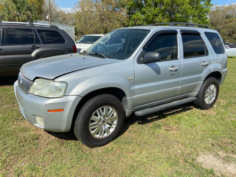 2005 Mercury Mariner for sale at Massey Auto Sales in Mulberry FL