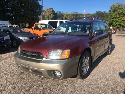 2003 Subaru Outback for sale at Used Cars 4 You in Serving NY