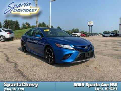 2018 Toyota Camry for sale at Sparta Chevrolet in Sparta MI
