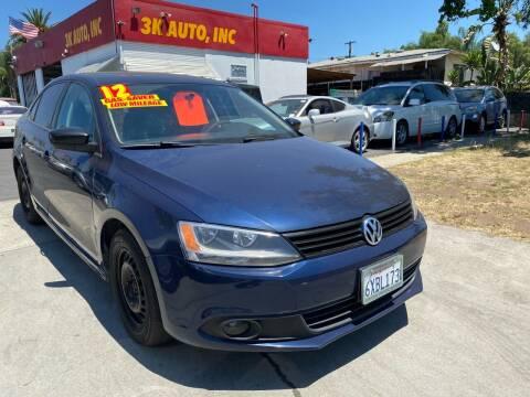 2012 Volkswagen Jetta for sale at 3K Auto in Escondido CA