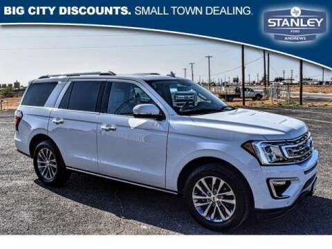 2018 Ford Expedition for sale at STANLEY FORD ANDREWS in Andrews TX