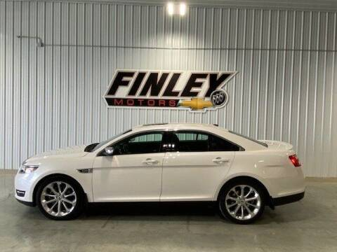 2017 Ford Taurus for sale at Finley Motors in Finley ND