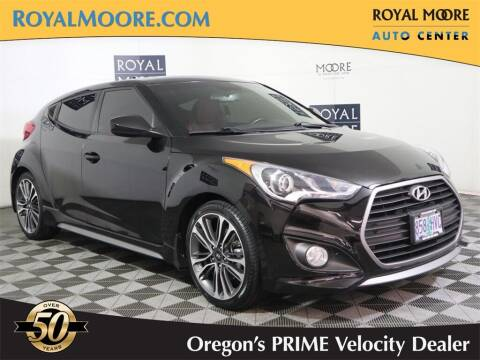 2016 Hyundai Veloster for sale at Royal Moore Custom Finance in Hillsboro OR