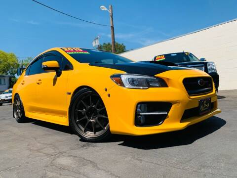 2015 Subaru WRX for sale at Alpha AutoSports in Roseville CA