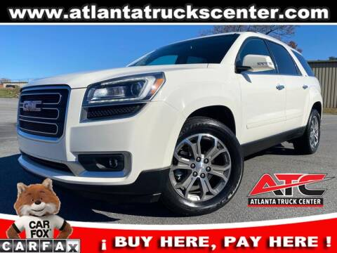 2014 GMC Acadia for sale at ATLANTA TRUCK CENTER LLC in Brookhaven GA