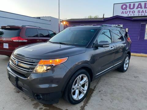 2015 Ford Explorer for sale at Quality Auto Sales LLC in Garland TX