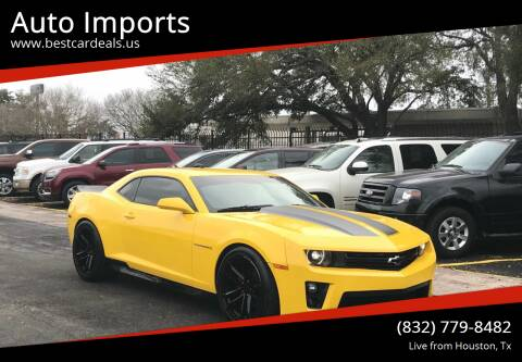2010 Chevrolet Camaro for sale at Auto Imports in Houston TX