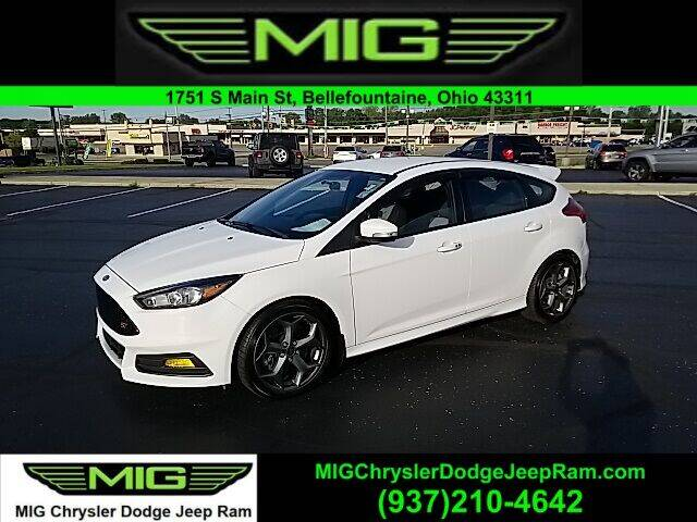 2017 Ford Focus for sale at MIG Chrysler Dodge Jeep Ram in Bellefontaine OH