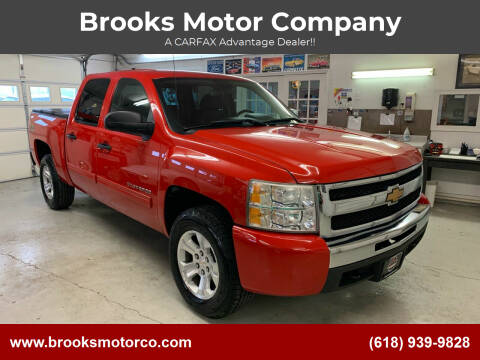 2010 Chevrolet Silverado 1500 for sale at Brooks Motor Company in Columbia IL