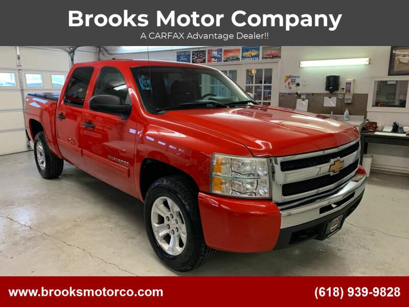 2010 Chevrolet Silverado 1500 for sale at Brooks Motor Company in Columbia IL