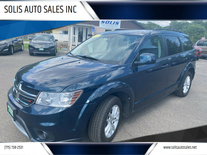 2014 Dodge Journey for sale at SOLIS AUTO SALES INC in Elko NV