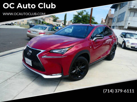 2015 Lexus NX 200t for sale at OC Auto Club in Midway City CA