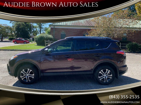 2017 Toyota RAV4 for sale at Auddie Brown Auto Sales in Kingstree SC