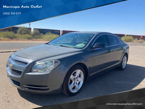 2009 Chevrolet Malibu for sale at Maricopa Auto Outlet in Maricopa AZ