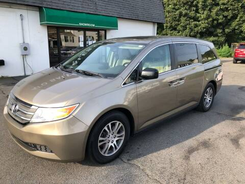 2011 Honda Odyssey for sale at Auto Sales Center Inc in Holyoke MA