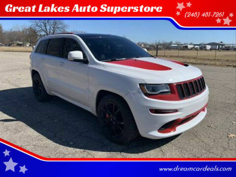 2014 Jeep Grand Cherokee for sale at Great Lakes Auto Superstore in Pontiac MI