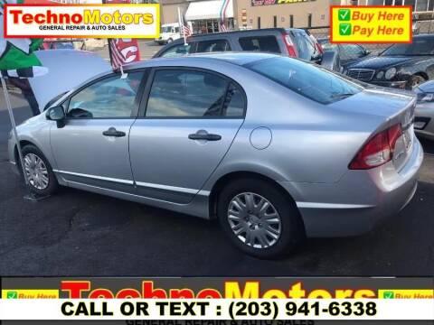 2011 Honda Civic for sale at Techno Motors in Danbury CT
