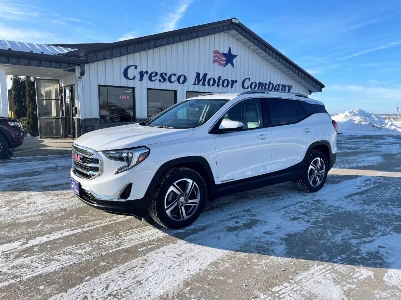 2020 GMC Terrain for sale at Cresco Motor Company in Cresco IA