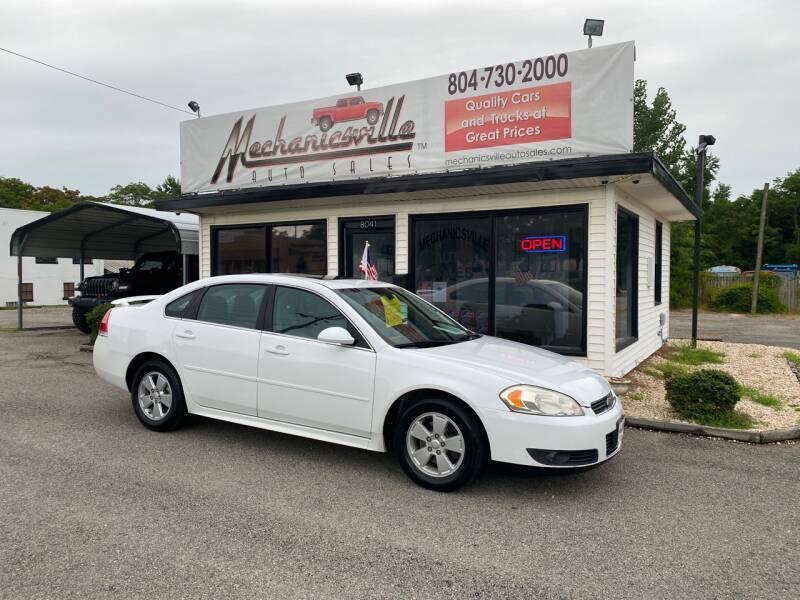 2011 Chevrolet Impala for sale at Mechanicsville Auto Sales in Mechanicsville VA