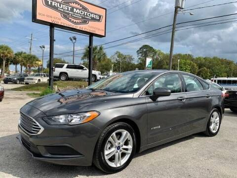 2018 Ford Fusion Hybrid for sale at Trust Motors in Jacksonville FL