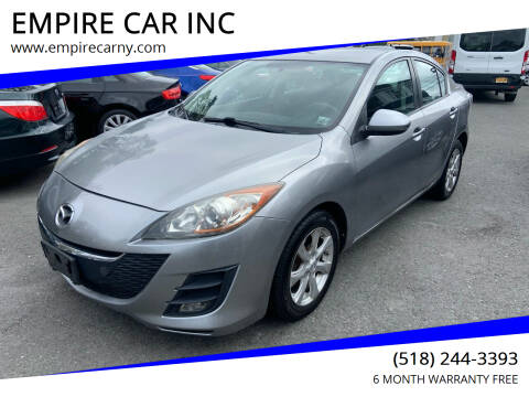 2010 Mazda MAZDA3 for sale at EMPIRE CAR INC in Troy NY