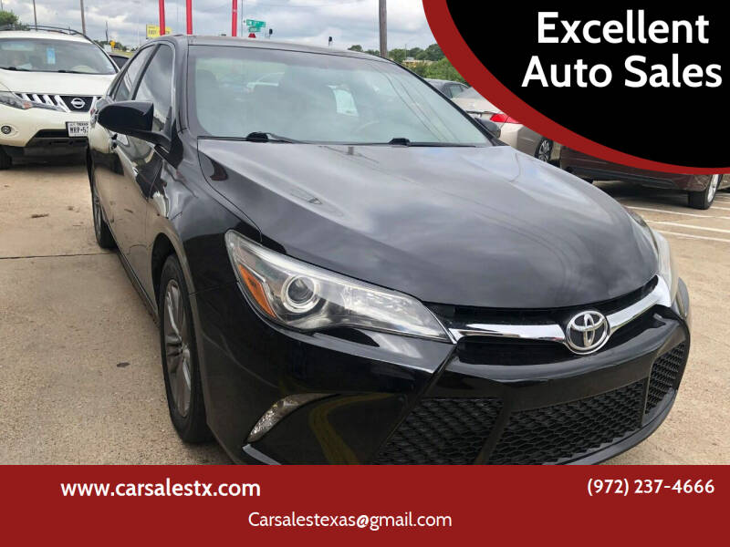 2016 Toyota Camry for sale at Excellent Auto Sales in Grand Prairie TX