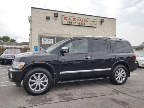 2010 Infiniti QX56 for sale at C & S SALES in Belton MO