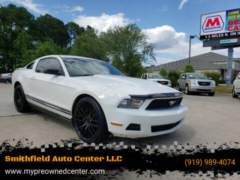 2012 Ford Mustang for sale at Smithfield Auto Center LLC in Smithfield NC