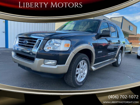 2007 Ford Explorer for sale at Liberty Motors in Billings MT