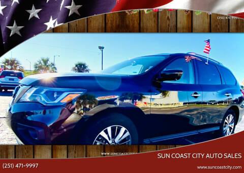 2019 Nissan Pathfinder for sale at Sun Coast City Auto Sales in Mobile AL