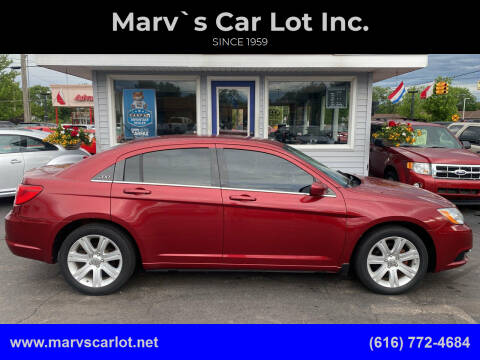 2013 Chrysler 200 for sale at Marv`s Car Lot Inc. in Zeeland MI