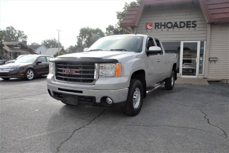 2008 GMC Sierra 2500HD for sale at Rhoades Automotive Inc. in Columbia City IN
