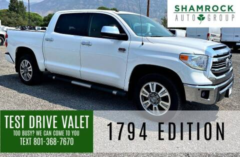 2016 Toyota Tundra for sale at Shamrock Group LLC #1 in Pleasant Grove UT