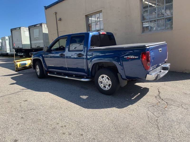 2005 GMC Canyon for sale at Beacon Auto Sales Inc in Worcester MA
