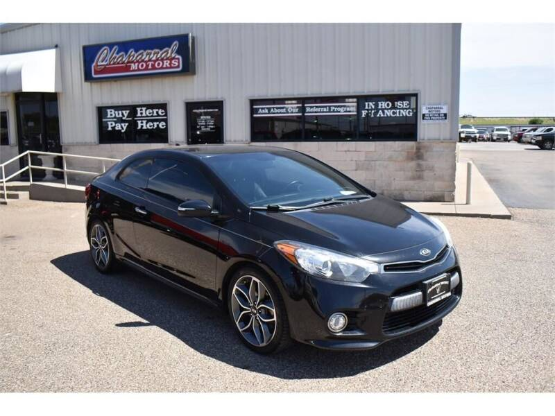 2015 Kia Forte Koup for sale at Chaparral Motors in Lubbock TX