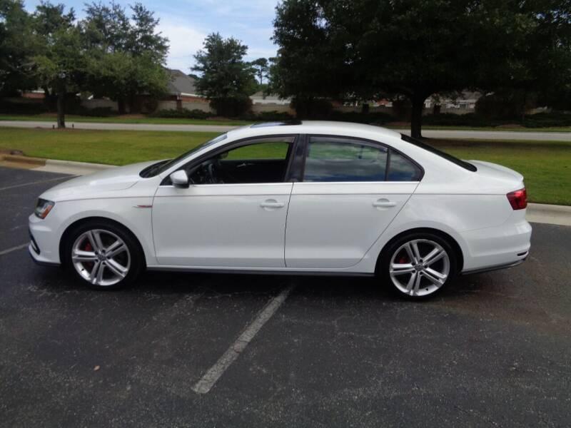 2017 Volkswagen Jetta for sale at BALKCUM AUTO INC in Wilmington NC