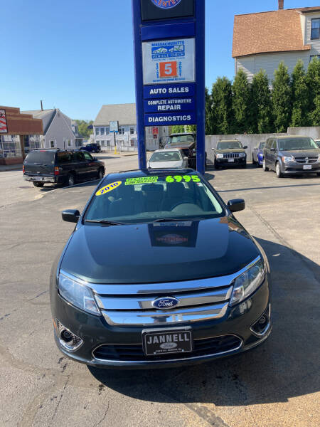 2010 Ford Fusion Hybrid for sale at Ramstroms Service Center in Worcester MA