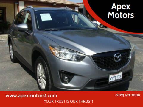 2013 Mazda CX-5 for sale at Apex Motors in Montclair CA