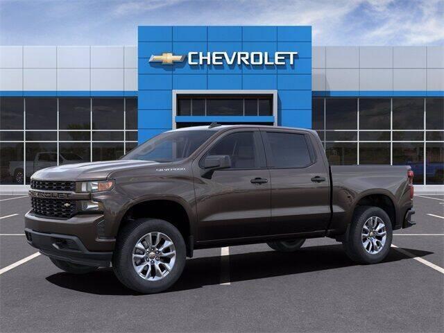 2021 Chevrolet Silverado 1500 4x2 Custom 4dr Crew Cab 5.8 ft. SB - San Antonio TX