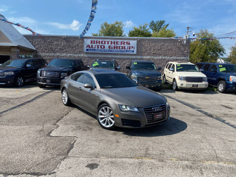 2012 Audi A7 for sale at Brothers Auto Group in Youngstown OH