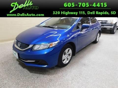 2015 Honda Civic for sale at Dells Auto in Dell Rapids SD