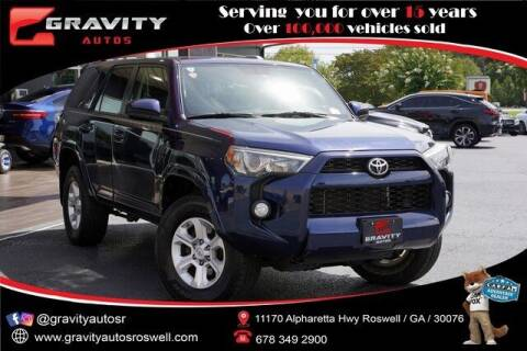 2015 Toyota 4Runner for sale at Gravity Autos Roswell in Roswell GA