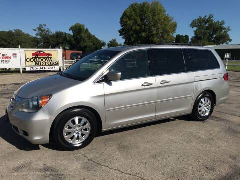 2008 Honda Odyssey for sale at Cordova Motors in Lawrence KS