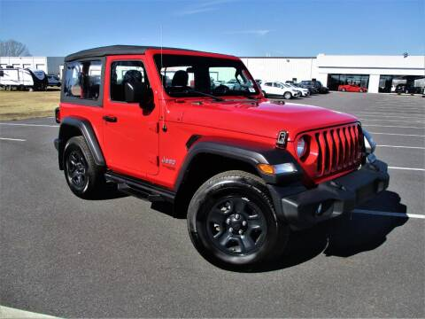 2019 Jeep Wrangler for sale at Auto Gallery Chevrolet in Commerce GA